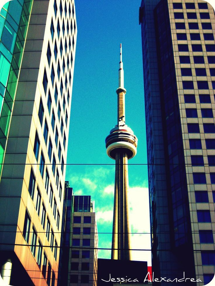 The C.N Tower in Toronto