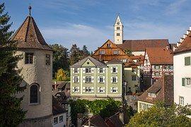 Altstadt, Meersburg, Bodensee