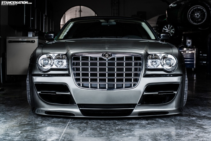 Platinum VIP x LIberty Walk Japan // Slammed Chrysler 300.   Stance:Nation - Form > Function