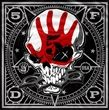 """Official Five Finger Death Punch silk screened cotton bandana featuring Obey design.  Bandana measures 21.5"""" (54cm) X 21.5 """" (54cm), perfect for head wear or as a banner for your wall"""