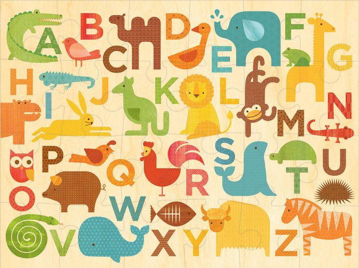 Floor Puzzle - Alphabet Kingdom.