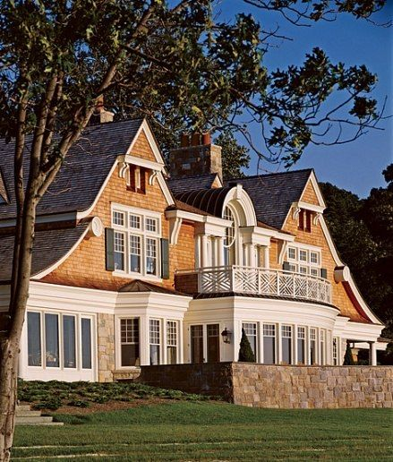 Shingle Style : Architecture + Design : Architectural Digest