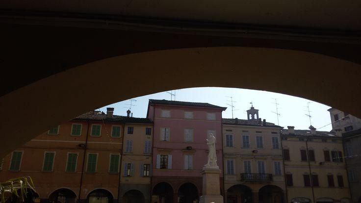 Scandiano  monumento a Lazzaro Spallanzani