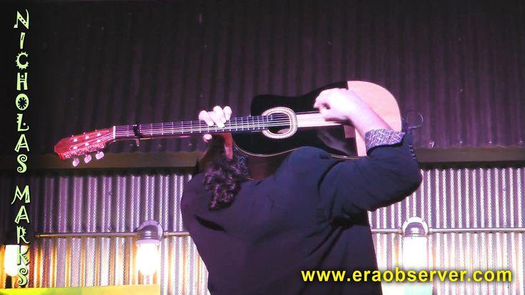 Amazing Guitar Solo - Historia De Un Amor - Performing by Nicholas Marks...