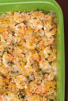 Garlicky Baked Shrimp minus the panko and it's Paleo ready