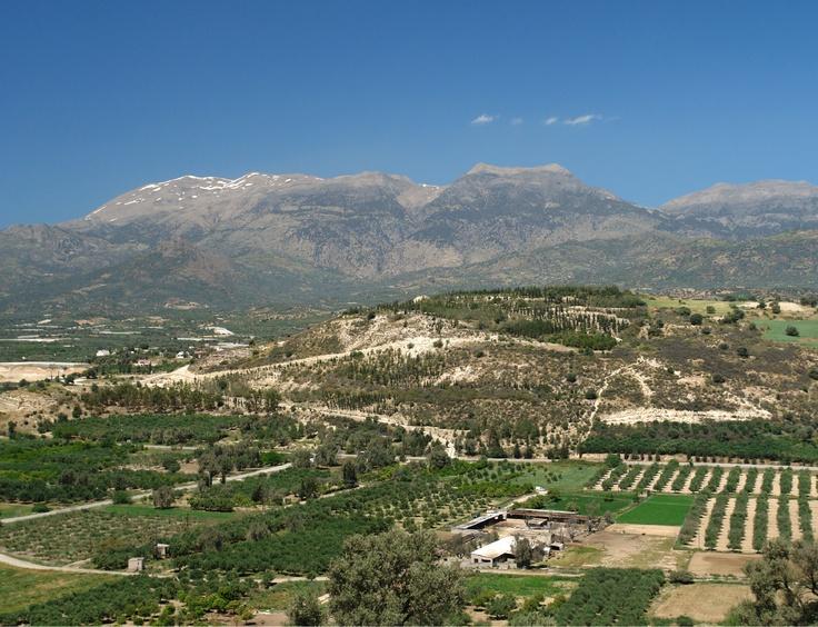 Αποψη της πεδιάδας της Μεσσαρας