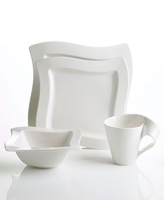 Villeroy & Boch Dinnerware, New Wave 4 Piece Place Setting - Casual Dinnerware - Dining & Entertaining - Macys #macysdreamfund
