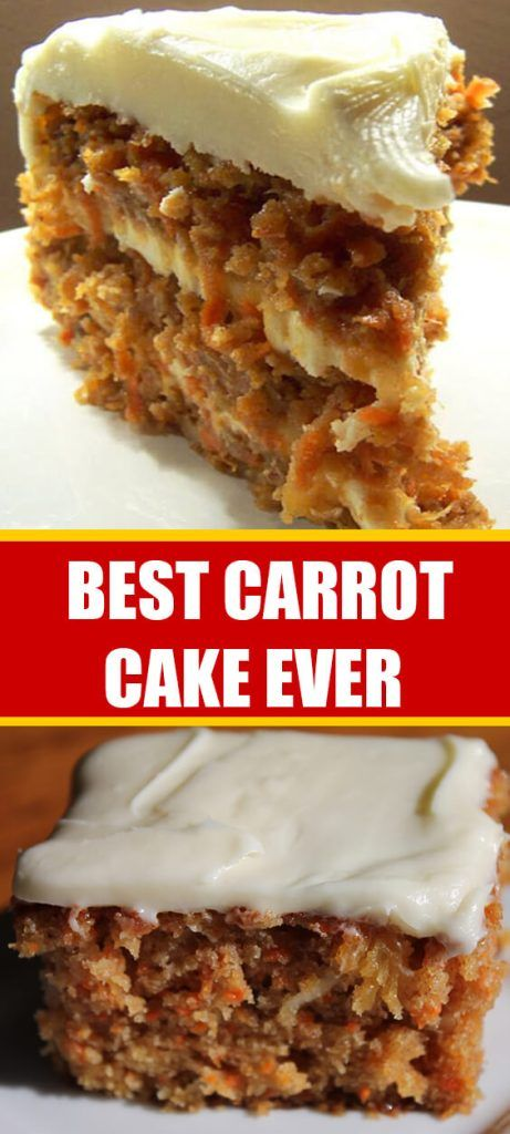 BEST CARROT CAKE EVER – What To Cook For Dinner