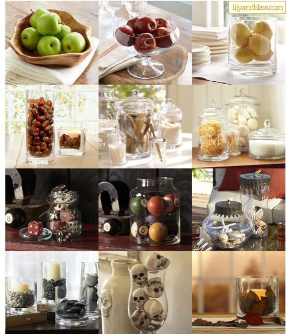 TONS of options for vase fillers on the blog!: Interior, Craft, Inspiration, Decoration, Decorating Ideas, Homes Decor Etc, Decor Insperations, Blog