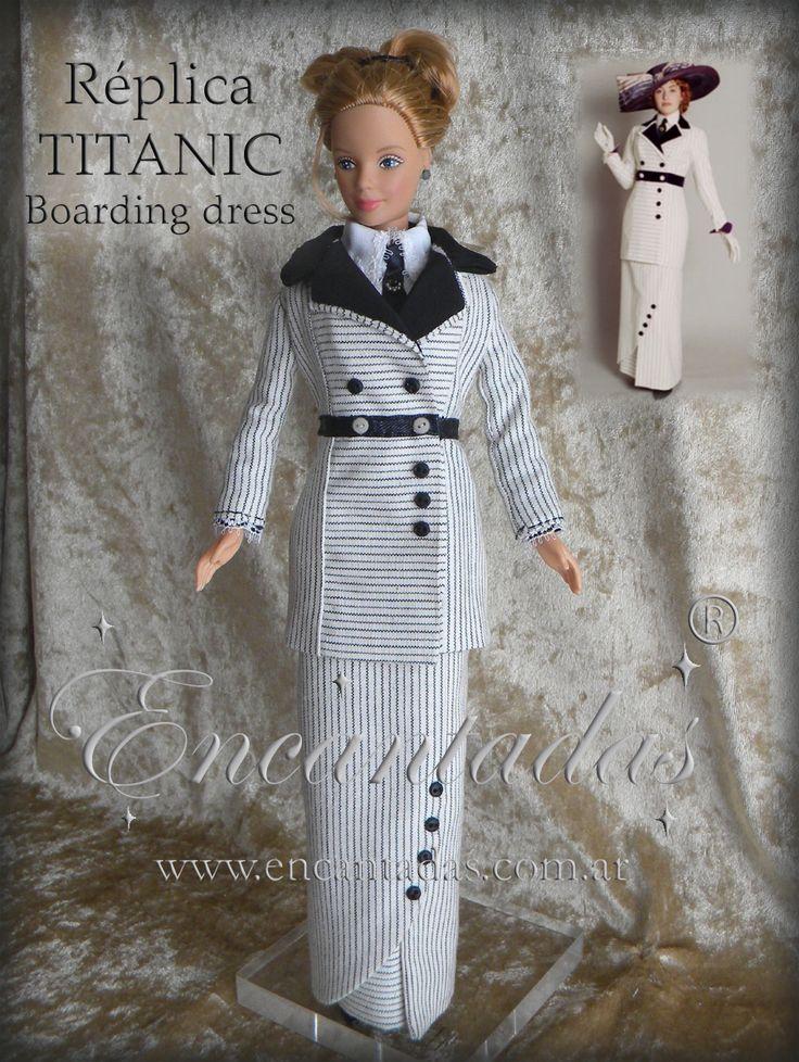 TITANIC - Rose Boarding Dress by Encantadas.deviantart.com on @deviantART