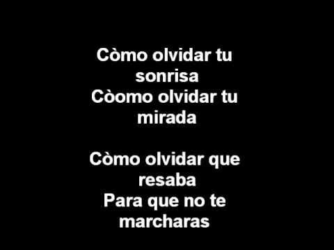 Nunca te olvidaré - Enrique Iglesias Letras