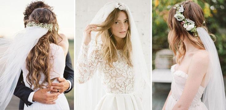 Acconciature da sposa con velo: tutti gli hairstyle perfetti per valorizzarlo al meglio : Album di foto - alfemminile