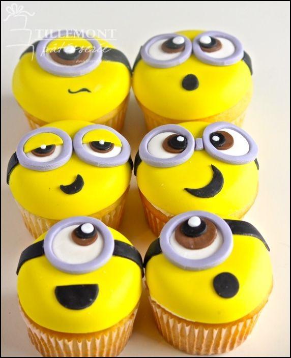 Cupcakes: 11 Creative Design Minion Cupcakes, minion cupcake ...