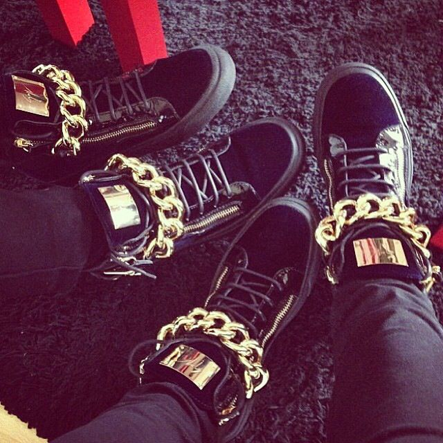 404f57a47f8b7 His & Hers Matching Giuseppe Zanotti Sneakers ༝༚❤༝༚ … | ☯・[ℍîƵ] 。&。  {{ℍɘṜ˚ƶ}}・☯ | Shoes…