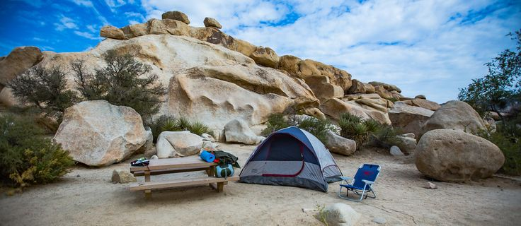 Camping in Joshua Tree. How to get a first come first serve site.
