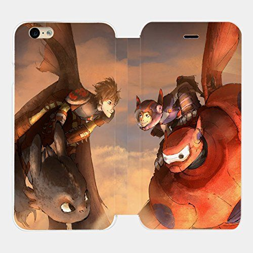 Dragon Toothless Vs Baymax Big Hero 6 Custom Flip Cover for Iphone 6 and Iphone 6 Plus (Flip Cover iPhone 6 plus) flip cover http://www.amazon.com/dp/B00XRMMOZC/ref=cm_sw_r_pi_dp_Fhcxvb010T62A