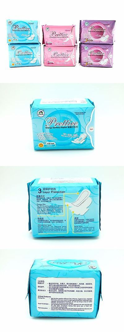 Sanitary Napkins: Energy Anion Sanitary Napkin Negative Ions - 2Night + 2Day + 2Pantiliner BUY IT NOW ONLY: $48.0