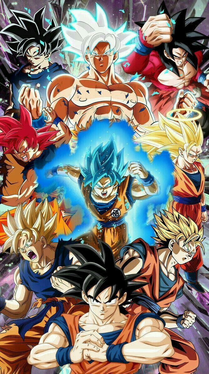 Vueno El Dibujo Dragones Personajes De Goku Dragon Ball