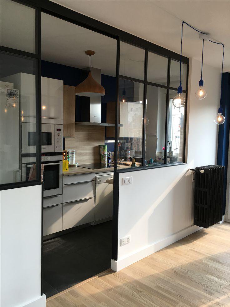 pingl par sisi sur living room pinterest verri re bureau et cuisines. Black Bedroom Furniture Sets. Home Design Ideas