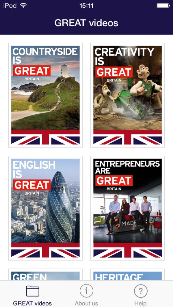 Apps | LearnEnglish | British Council | LearnEnglish GREAT Videos