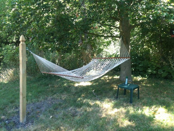 how to hang a hammock without a tree - Google Search ...