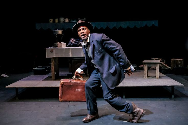 The Suitcase is on at the Market Theatre. Don't miss it!