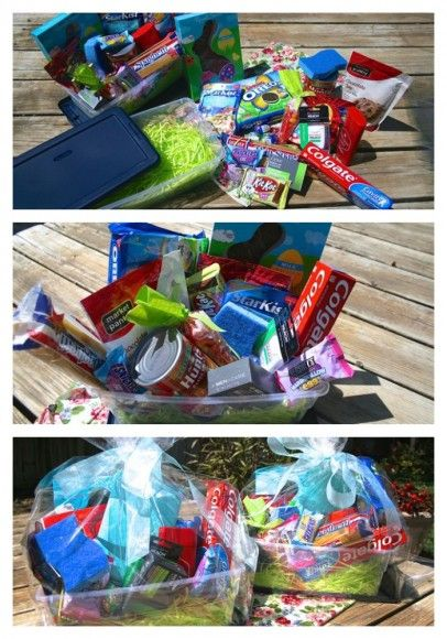 90 best care package images on pinterest gift ideas creative easter basket ideas for college students negle Images