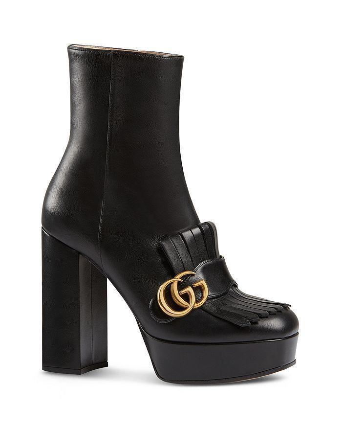 Platform ankle boots, Ankle heels