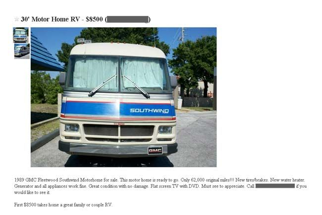 """So you are thinking """" Maybe its time to sell my RV """"?. Selling through RV classifieds? Use these tips to successfully sell your RV in the classifieds!"""