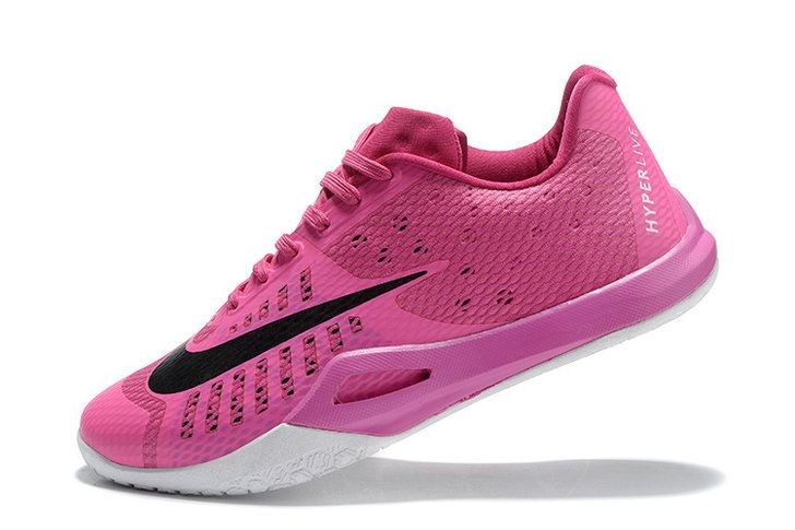 new arrival f898b 4aaa3 NIKE HYPERLIVE EP Aunt Pearl James Harden PED Think Pink Black   April 2018  New Arrival Shoes   Nike, Shoes, Shoes sneakers
