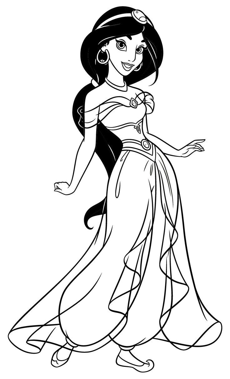 Colora Le Principesse Disney Alad 205 N