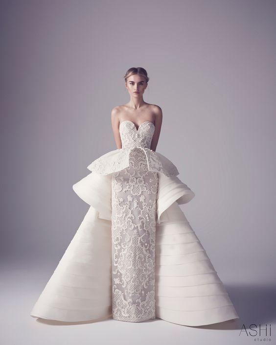 Assez Les 25 meilleures idées de la catégorie Robes haute couture sur  MY61