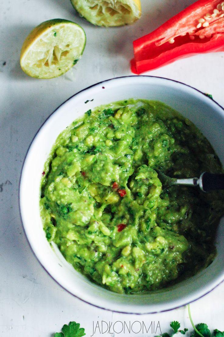 jadłonomia · roślinne przepisy: Guacamole idealne