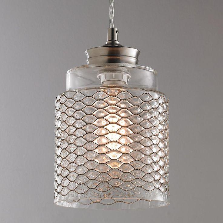 Glass Pendants Kitchen Island