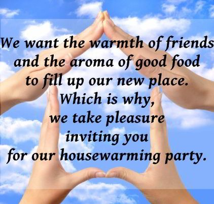 Format Of Invitation Card For Housewarming Ceremony Blog
