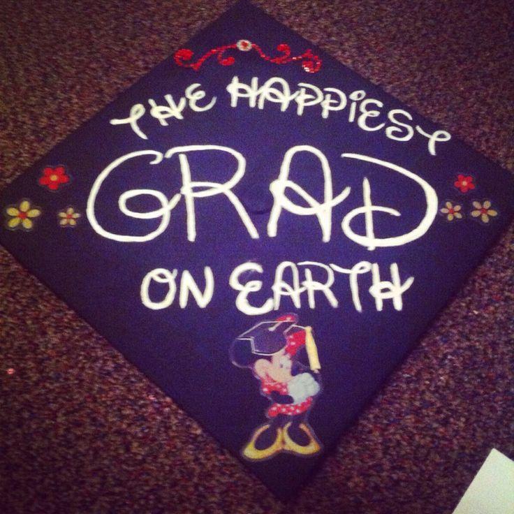 Graduation Cap-Disney-Minnie Mouse