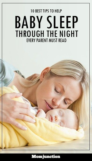 Baby Sleep Through The Night: If you are a sleep deprived mother who wants her baby to have a good sleep routine at night, we are here to help. Read on to find how you can achieve the same by using some effective tips. #parenting