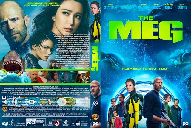 The Meg Dvd Cover Cover Addict Collection Pinterest Cover And
