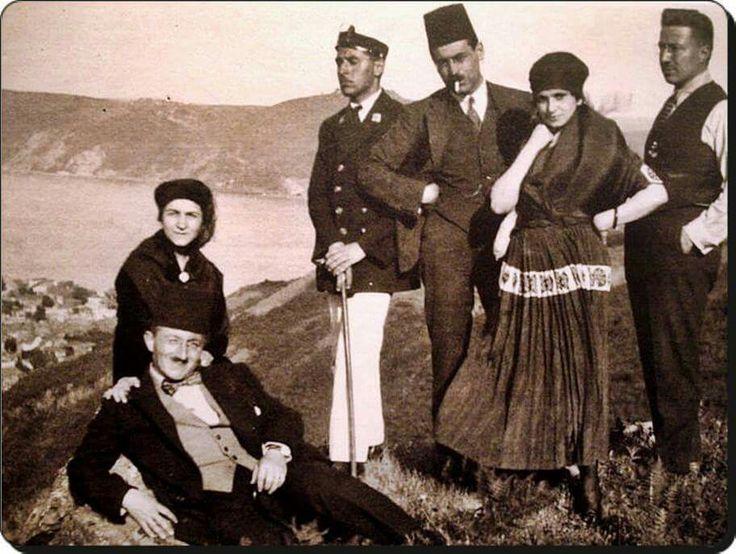 Ali Sami Yen ve arkadaşları