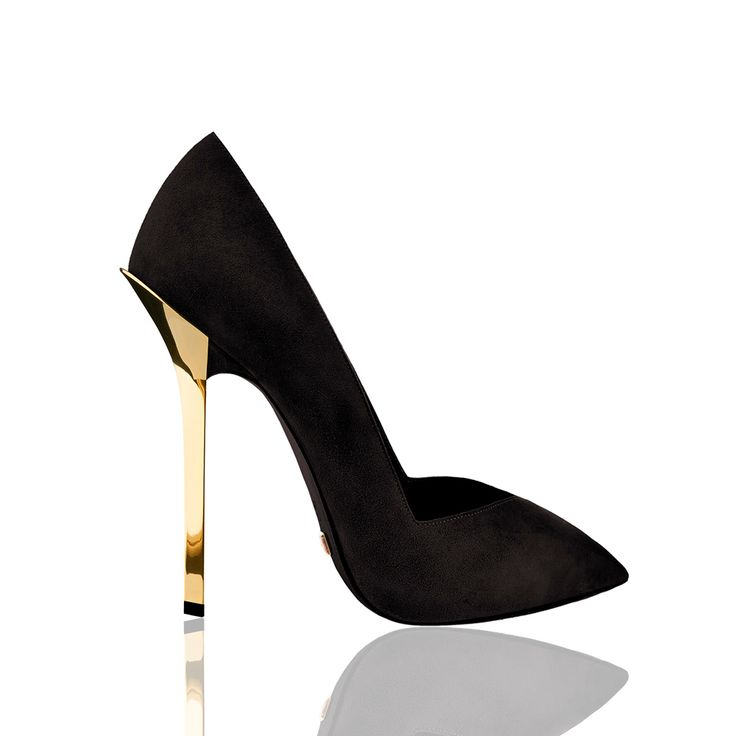 Dukas Deville Black Pumps -- In LOVE!!