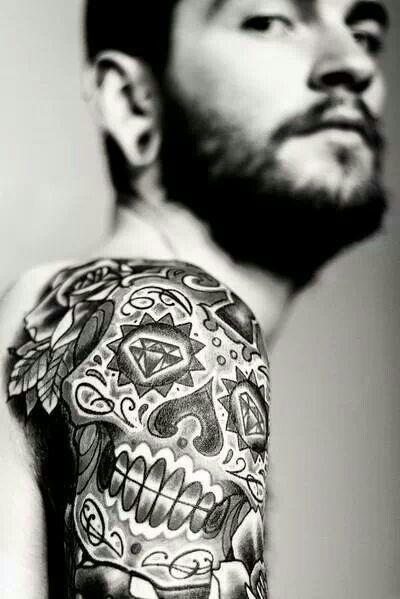 Skull tattoo meanings, designs and ideas with great images for 2016. Learn about the story of skull tats and symbolism.