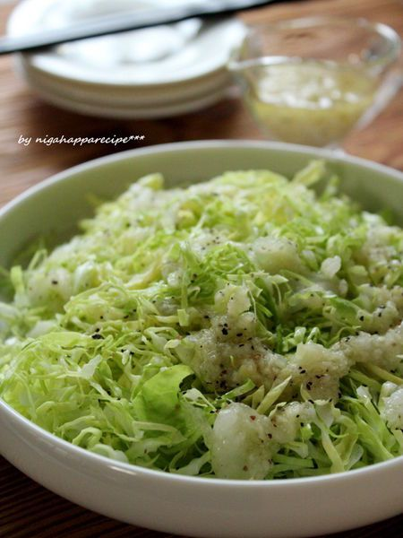 生姜たっぷり、塩だれキャベツ by にがはっぱ 平沢あや子   レシピサイト「Nadia   ナディア」プロの料理を無料で検索