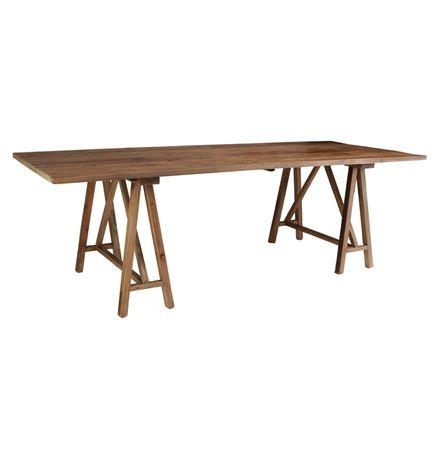 Trestle Dining Table  250 X 100 matt blatt $1395