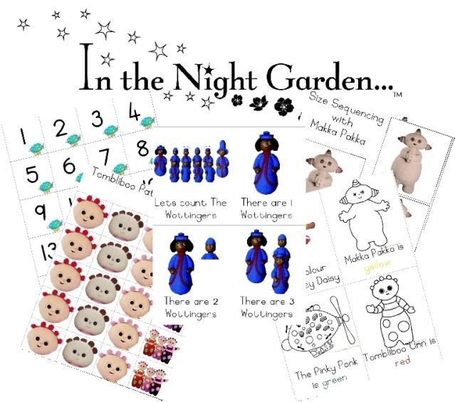 FREE DOWNLOAD: In the Night Garden PreschoolPack