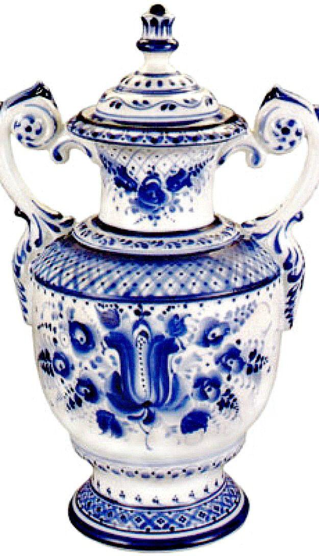 Gzhel Porcelain