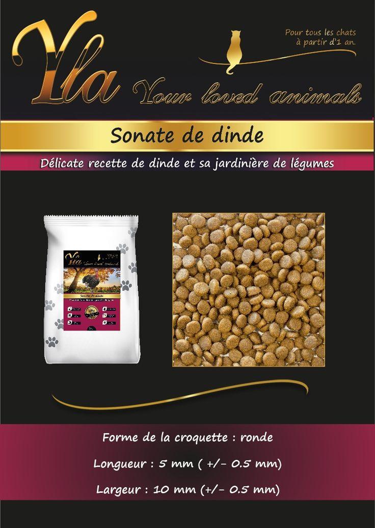 Croquettes sans céréale naturelles et hypoallergéniques pour chat