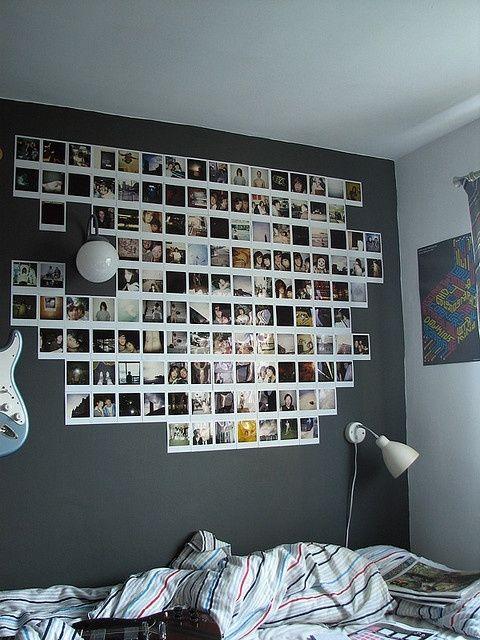 10 Cute Photo Decor Ideas for Your Dorm | http://www.hercampus.com/life/campus-life/10-cute-photo-decor-ideas-your-dorm