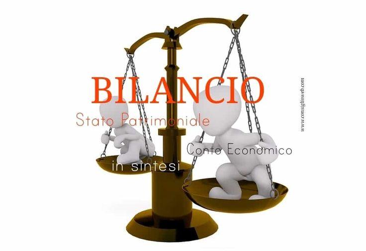Bilancio esercizio: Stato patrimonale - Conto economico cosa sono in sintesi. Cos'e' lo Stato Patrimoniale, cos'e' il Conto Economico! Spiegazione semplice.