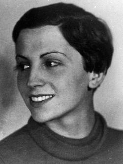 Gerda Taro (born Gerta Pohorylle, 1910-1937) - German war photographer, and the companion and professional partner of photographer Robert Capa. Taro is regarded as the first female photojournalist to cover the front lines of a war and to die while doing so.