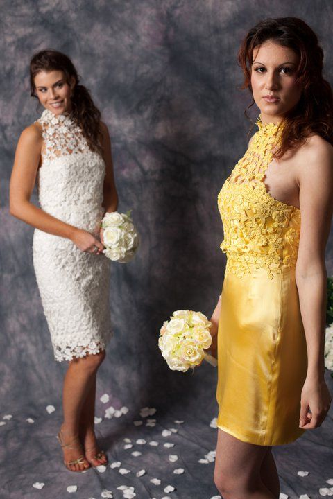 Short lace wedding dresses http://www.arcarocouture.com.au/